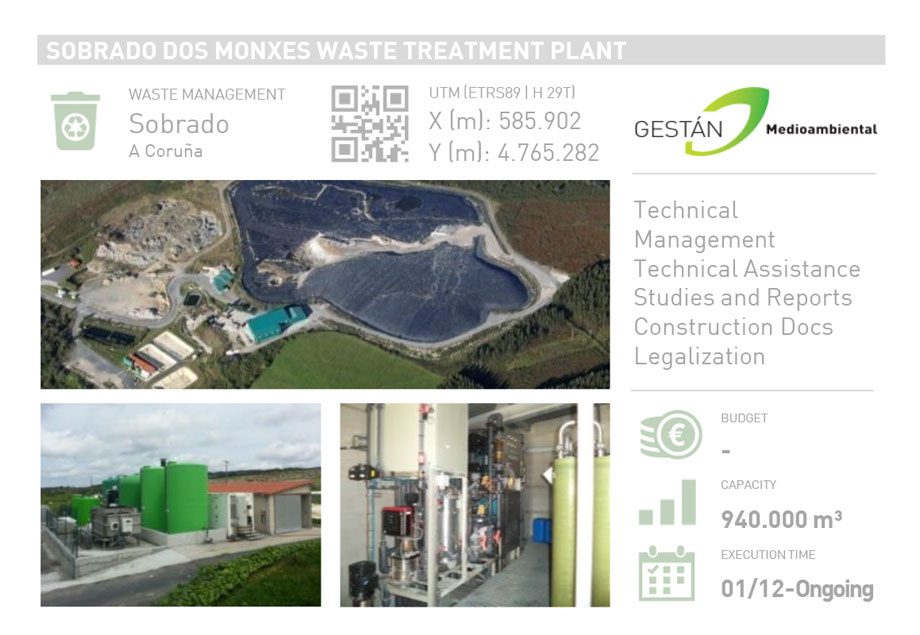 SOBRADO DOS MONXES WASTE TREATMENT PLANT