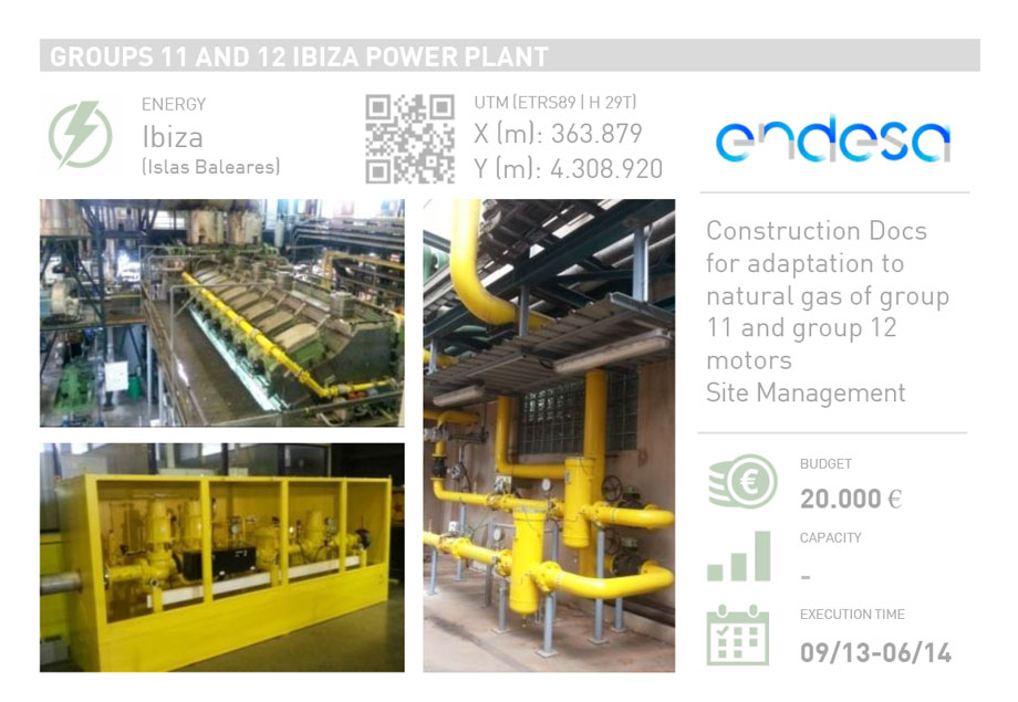 GROUPS 11 AND 12 IBIZA POWER PLANT