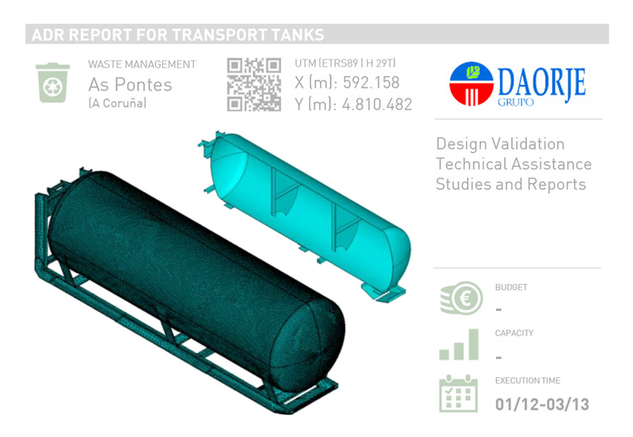 ADR REPORT FOR TRANSPORTS TANKS