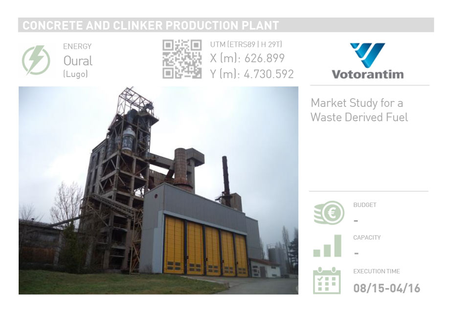 CONCRETE AND CLINKER PRODUCTION PLANT
