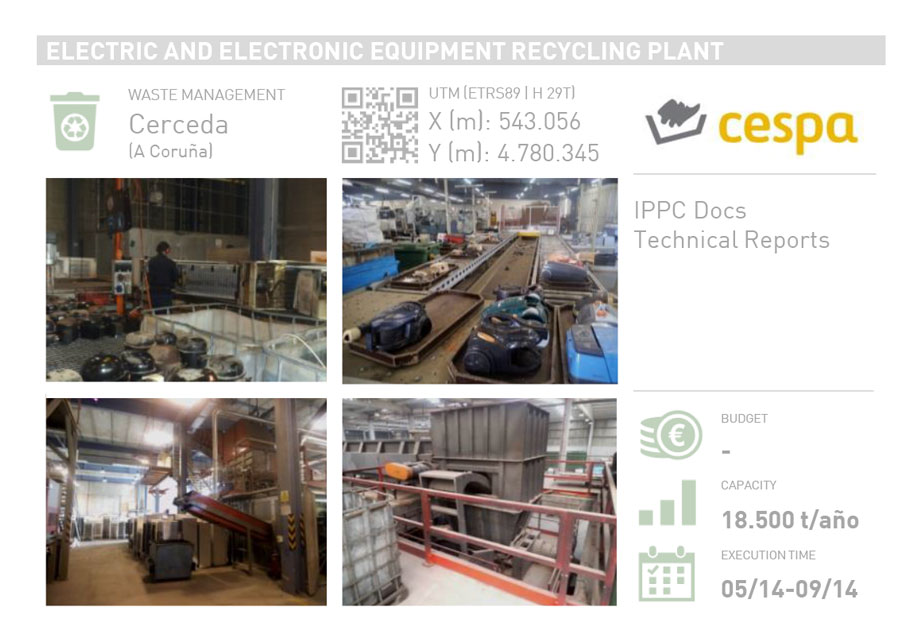 ELECTRIC AND ELECTRONIC EQUIPMENT RECYCLING PLANT