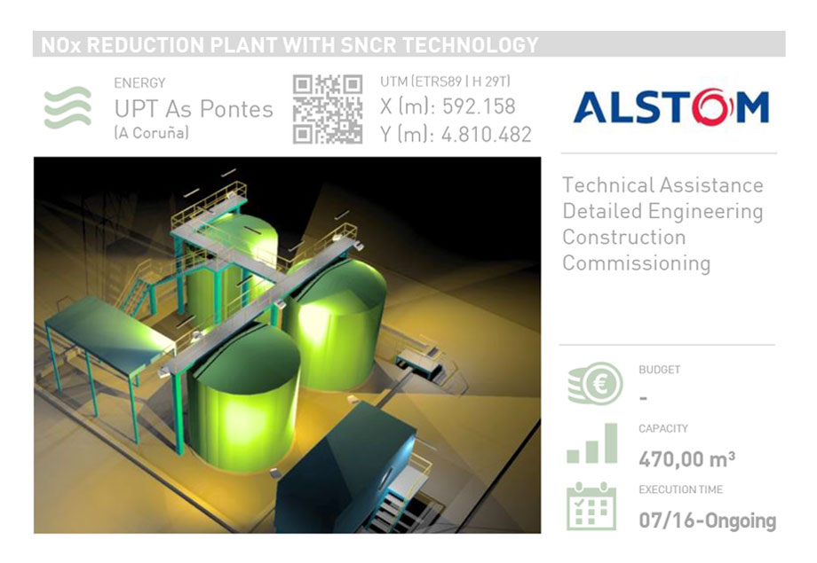 NOX REDUCTION PLANT WITH SNCR TECHNOLOGY