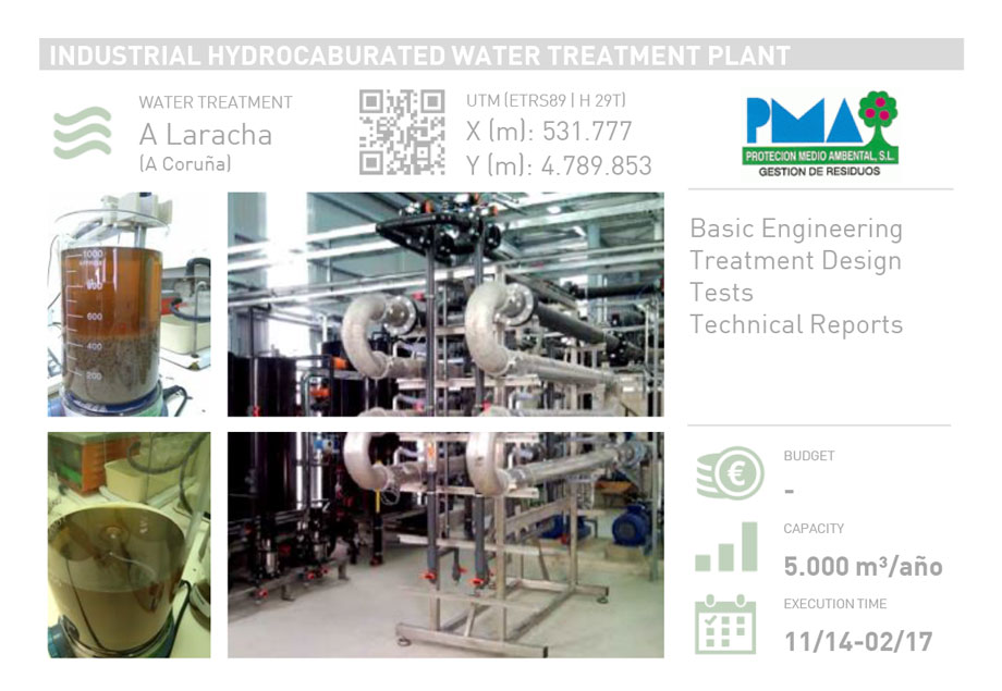INDUSTRIAL HYDROCARBURATED WATER TREATMENT PLANT