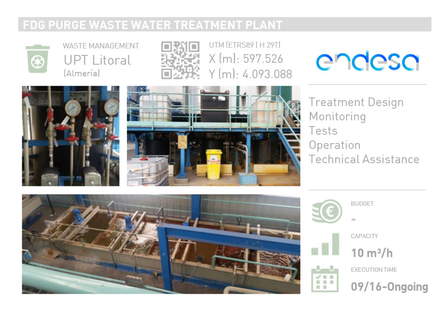 FDG PURGE WASTE WATER TREATMENT PLANT